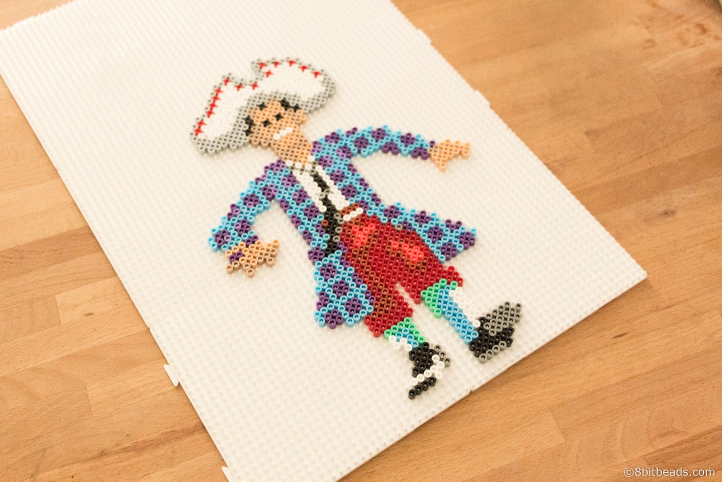 Stan from Monkey Island 8bitbeads.com