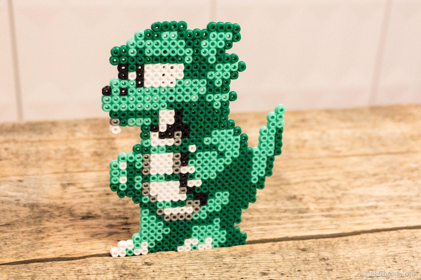 Lizard Man Wonderboy - 8bitbeads.com