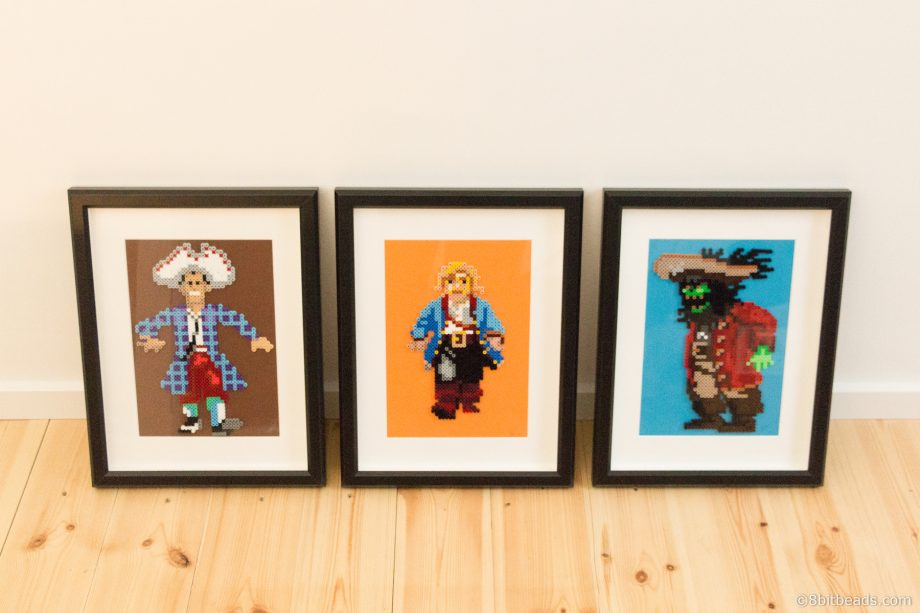 Monkey Island Framed Bead Collection
